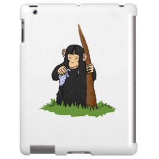 Griterío del chimpancé funda para iPad