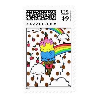 Griterío para el sello del helado