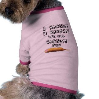 Grito 4 corndogs ropa de perro