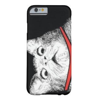Grito de asombro sorprendido Meme - caso del gato Funda Barely There iPhone 6