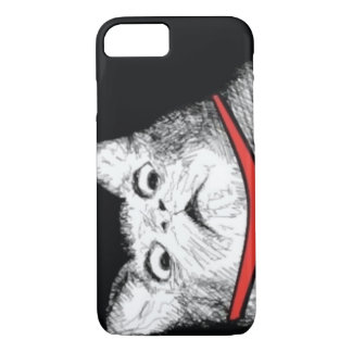 Grito de asombro sorprendido Meme - caso del gato Funda iPhone 7