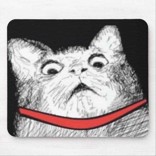 Grito de asombro sorprendido Meme - Mousepad del g