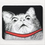 Grito de asombro sorprendido Meme - Mousepad del g Tapetes De Ratón