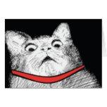 Grito de asombro sorprendido Meme - tarjeta del ga
