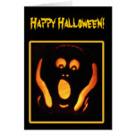 Grito de Halloween Tarjetón