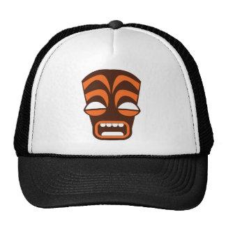 ¡Grito de TIKI! Diseño de Halloween Gorras De Camionero