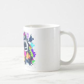 Grito del chapoteo taza básica blanca