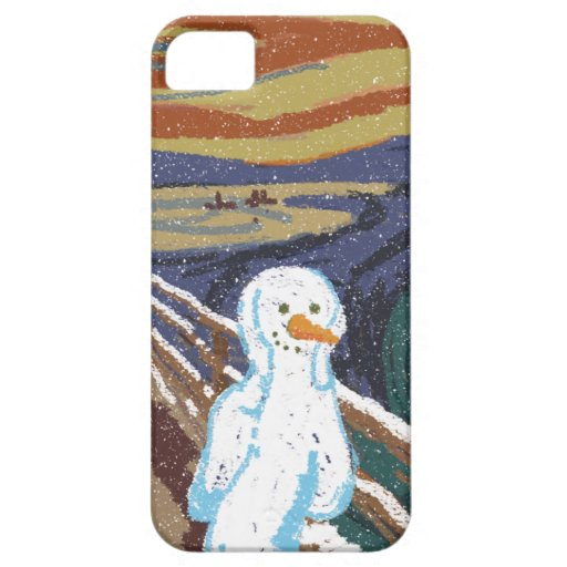 Grito del hielo iPhone 5 Case-Mate carcasas