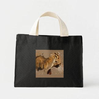 Grito del tigre bolsa de mano