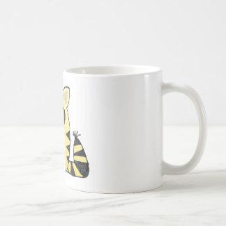 Grito divertido del gato taza