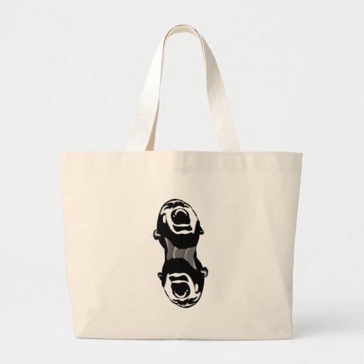 Grito doble bolsa lienzo