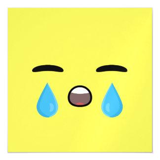 Grito Emoji Invitaciones Magnéticas