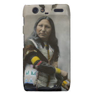 Grito en el indio de Oglala Siux 1899 Motorola Droid RAZR Funda