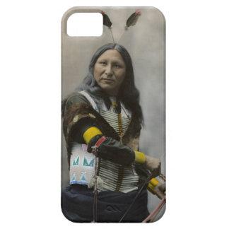 Grito en el indio de Oglala Siux 1899 Funda Para iPhone 5 Barely There