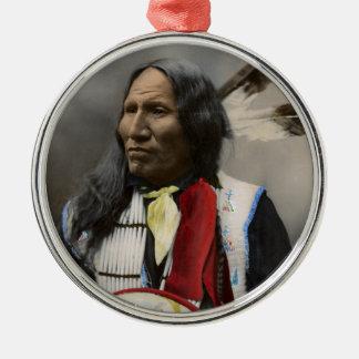 Grito en el vintage del indio de Oglala Siux 1899 Ornamentos De Reyes Magos