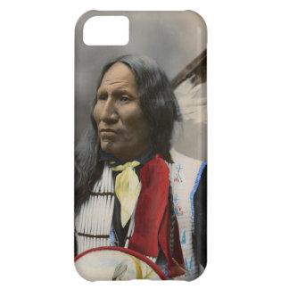 Grito en el vintage del indio de Oglala Siux 1899