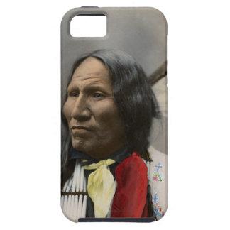 Grito en el vintage del indio de Oglala Siux 1899 iPhone 5 Case-Mate Protectores