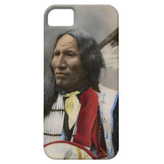 Grito en el vintage del indio de Oglala Siux 1899 iPhone 5 Cárcasas