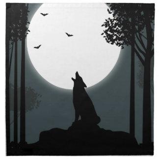 grito en la luna servilleta