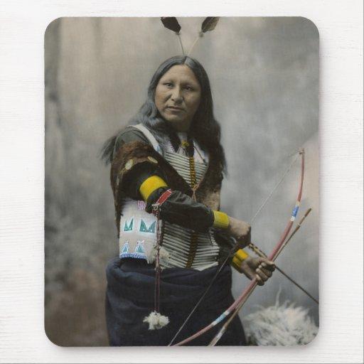 Grito en, Oglala Siux, 1899 Alfombrilla De Ratón