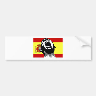 Grito España Etiqueta De Parachoque