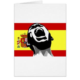 Grito España Tarjeta De Felicitación
