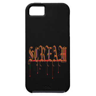 GRITO Halloween sangriento iPhone 5 Fundas