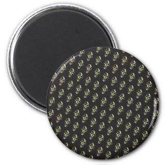 Grito II (oro) Imán Redondo 5 Cm