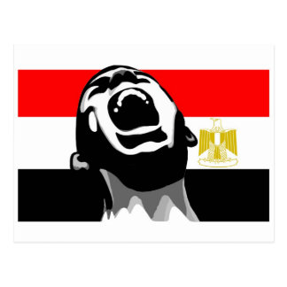 Grito para Egipto Postales