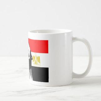 Grito para Egipto Taza Básica Blanca
