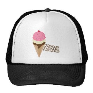 Grito para el helado gorras de camionero