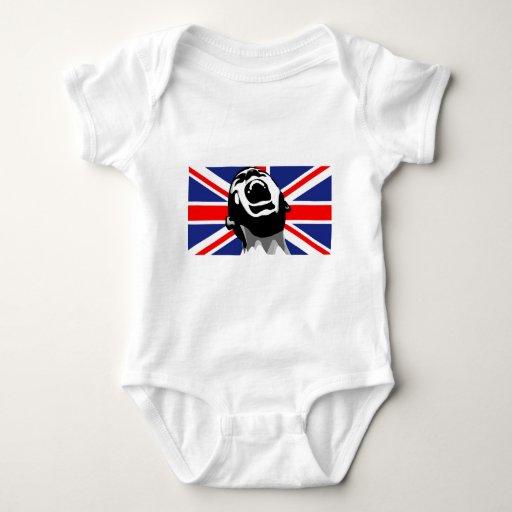 Grito para el Reino Unido Body Para Bebé