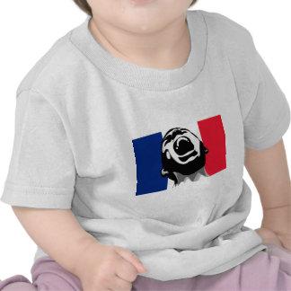 Grito para Francia Camiseta