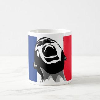 Grito para Francia Taza Básica Blanca