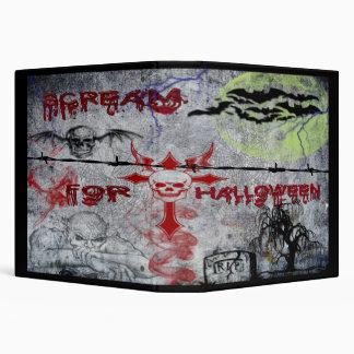 """Grito para Halloween 1,5"""" carpeta"""