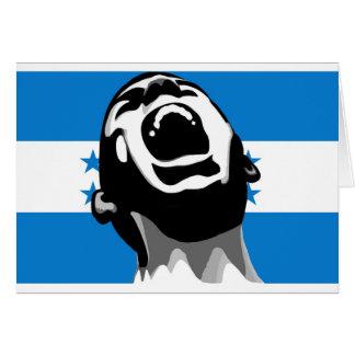 Grito para Honduras Tarjeta De Felicitación