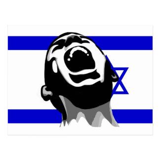 Grito para Israel Tarjeta Postal