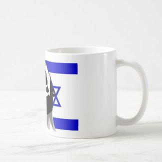Grito para Israel Taza Básica Blanca