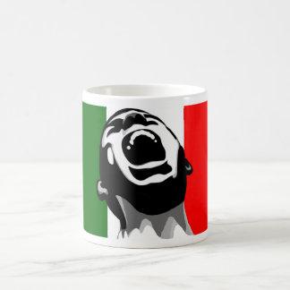 Grito para Italia Taza Básica Blanca