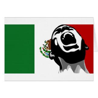 Grito para México Tarjeta De Felicitación
