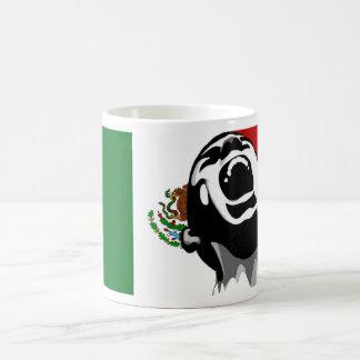 Grito para México Taza Básica Blanca