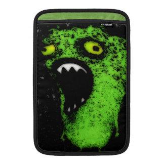 Grito verde fundas para macbook air