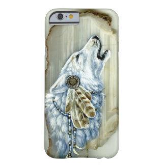 Grito White Wolf Funda De iPhone 6 Barely There