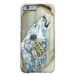 Grito White Wolf Funda Para iPhone 6 Barely There