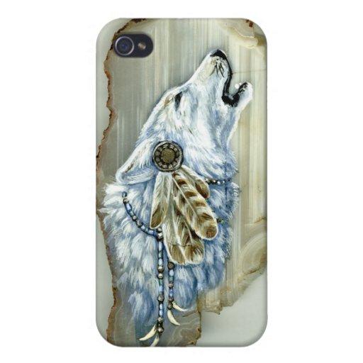 Grito White Wolf iPhone 4 Cobertura