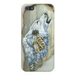 Grito White Wolf iPhone 5 Funda
