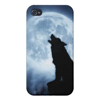 Gritos de la cubierta del caso de Iphone 4 del lob iPhone 4 Funda