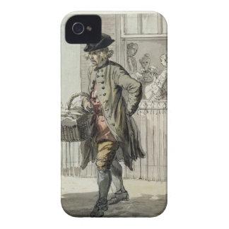 Gritos de Londres: Un hombre de mollete, c.1759 (w iPhone 4 Case-Mate Carcasas