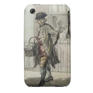 Gritos de Londres: Un hombre de mollete, c.1759 (w iPhone 3 Cárcasa