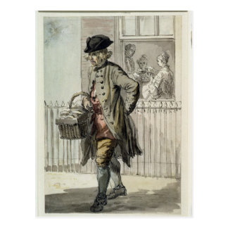 Gritos de Londres Un hombre de mollete c 1759 w Postales